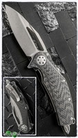 Marfione Custom Matrix Full Size Carbon Fiber Handle Apocalyptic Blade