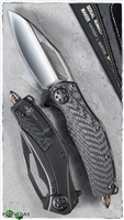 Marfione Custom Matrix Full Size Titanium / CF Handle DLC Ti Hardware DLC Mirror Blade