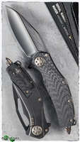 Marfione Custom Matrix Full Size Titanium / CF Handle Bronze Ti Hardware DLC Mirror Blade