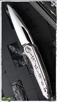 Marfione Sigil Stainless Handle w/ Bespoke Engraved