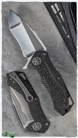 Marfione Custom Star Lord 3D Carbon Fiber Handle SF Compound Grind Blade