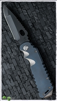 Medford ARKTIKA All Titanium Blue Handle Polished HW & CLIP