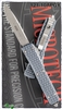 Microtech Ultratech D/A OTF Tri-Grip S/E AP Blade Gray Handle