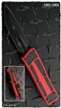 Microtech QD Scarab D/E-S 180-1RD Black Blade Red HandleMicrotech QD Scarab D/E-S 180-1RD Black Blade Red Handle