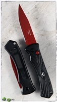 Paragon ERT Automatic Black Handle Red Blade