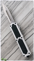 Titan D/A OTF Automatic Knife Green Handle Silver Blade