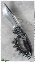 Todd Begg Custom Fear No Evil Folder