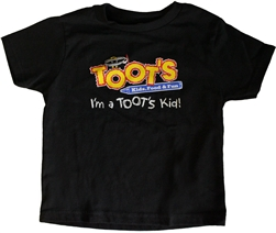 Toots Tshirt Kids Black