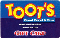Toots Gift Card