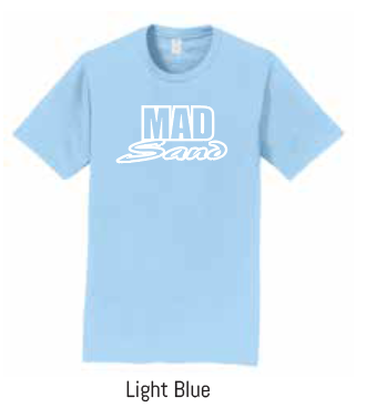 MadSand LIGHT BLUE Soft Style TeeMadSand Unisex Soft Style – Light Blue
