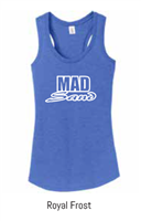 MadSand Ladies Tri Blend ROYAL FROST Tank