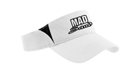 MadSand WHITE VISOR with Monogram logo