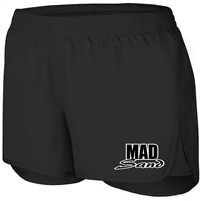 MadSand Solid Athletic Short - Black
