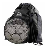 MadSand Black Sling Bag with Mesh Ball Carrier