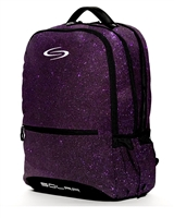 Solar Purple Sparkle Backpack