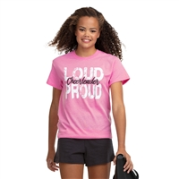 Cheer Loud & Proud Tee