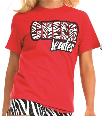 Zebra Cheer T-Shirt