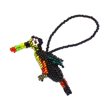 Toucan Ornament - Black