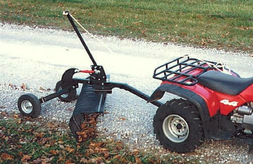 Landscape rake ace : Landscape products co landscaping rakes for atv ace