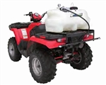 90.712.250 BE Agriease 25 Gallon ATV/UTV Boom Sprayer with 2 Nozzle Fixed Boom, 2.2 GPM.