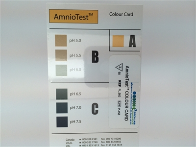 AmnioTest - Color Interpretation Cards