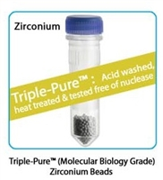 Prefilled 2.0 ml tubes, Zirconium Beads, 1.0mm Triple Pure - High Impact, 50 pk