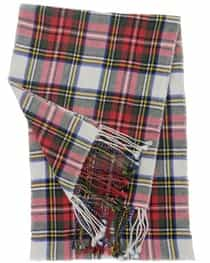 Cashmere Plaid Muffler Color Parade Tartan