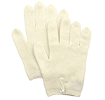 Pure Cashmere Button Gloves Natural
