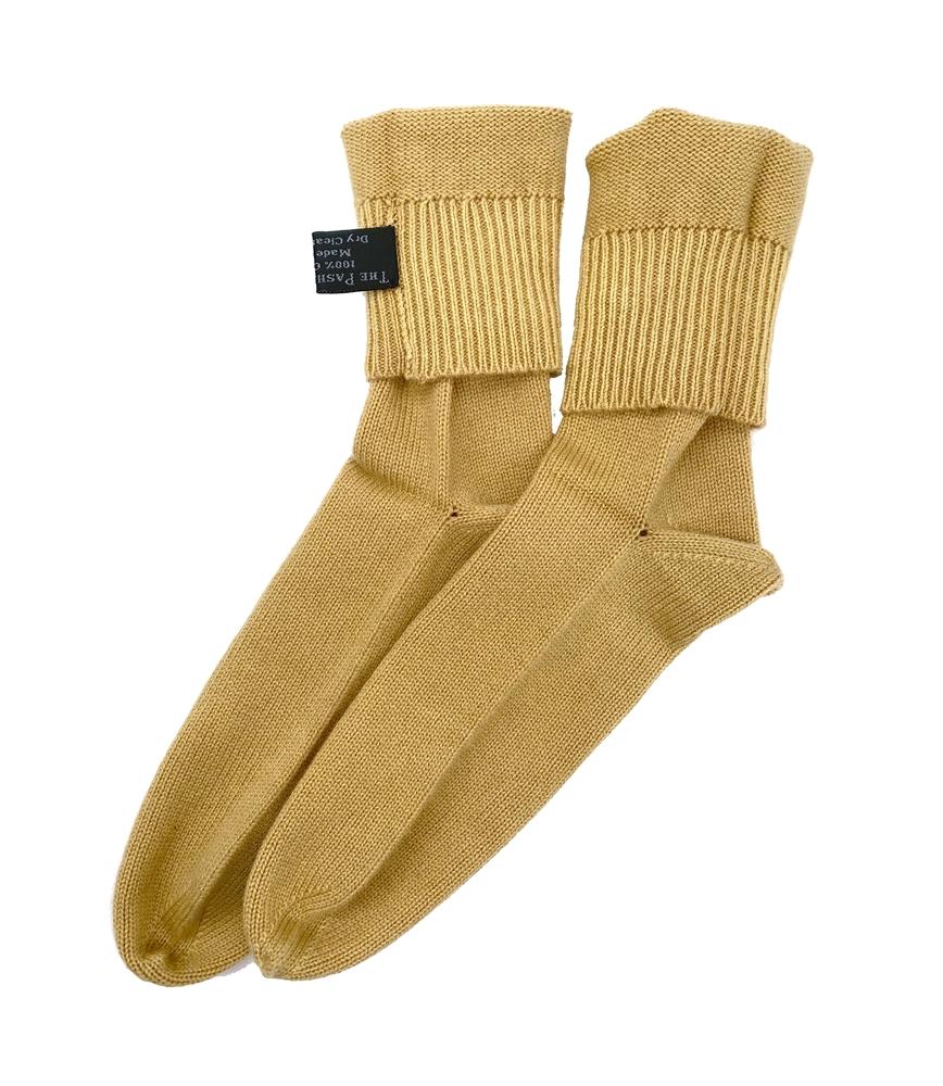 Knitting Pattern For Cashmere Socks : Knit Cashmere Socks Camel