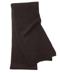 Dark Chocolate Men's Cashmere Scarf