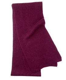 Burgundy Men's Cashmere Scarf
