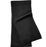 Black Men's Cashmere Scarf