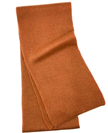 Burnt Orange Men's Cashmere Scarf