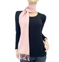 Light Pink Pashmina Scarf