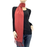 Earth Red Pashmina Scarf