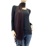 Dark Chocolate Pashmina Scarf