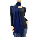 Midnigth Blue Pashmina Scarf
