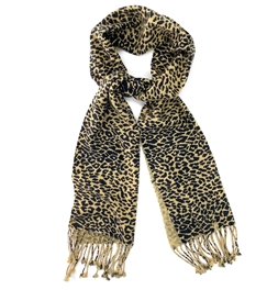 Cheetah Animal Print Pashmina