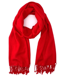 Red Pashmina Wrap