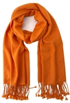 Orange Pashmina Wrap