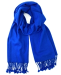 Royal Blue Pashmina Wrap