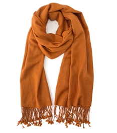 Burnt Orange Pashmina Wrap