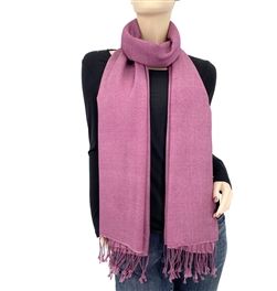 Midnight Lavender Ring Pashmina