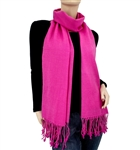 Hot Pink Ring Pashmina