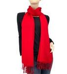 Red  Ring Pashmina