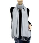 Silver Grey  Ring Pashmina