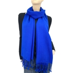 Royal Blue Ring Pashmina