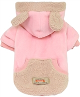 velour bear sweater