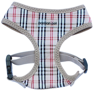 freedom harness plaid khaki