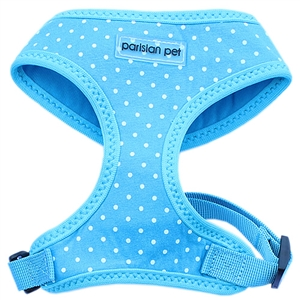 freedom harness polka dot blue